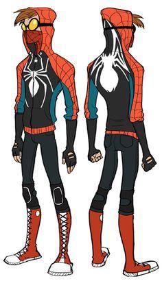 Marvel Comics Cosplay -- Rosy Higgins Spiderman Cosplay Costume Version 01 - CosplayHouse.com