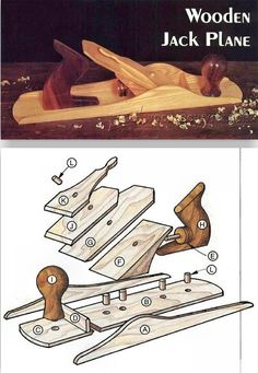 Wooden Jack Plane - Woodworking Plans and Projects | WoodArchivist.com