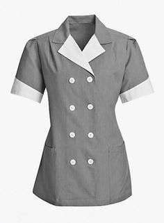 Women's Double Breasted Housekeeping Tunic