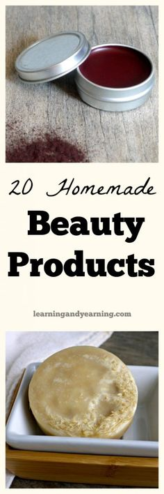 Finding natural products that work well isn't always easy. Often, I prefer homemade beauty products to store-bought, and I like the price tag better as well!