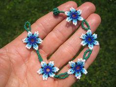 Huichol Bead Indian Bracelet Jewelry Art Hand Made Guadalajara Mexico A40 | eBay