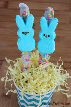 We love making Peeps