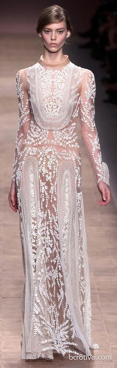 These are the Couture Evening Gowns from The Valentino Spring Summer 2013 Ready To Wear Collection in full length, runway fashion photos, that are optimized for Pinterest. The Designer Dresses, Coats and Pants are in a separate post as this is a such a large collection. Be sure to check …
