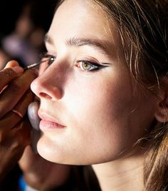 A roundup of the biggest beauty trends, as seen during spring/summer 2018 fashion week.