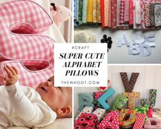 You will love to learn how to make these very popular Alphabet Letter Pillows and they are easy when you know how. Watch the quick video too.