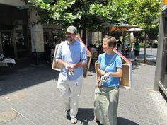 "Gordon & Gordon (USA), ""Give and Take"", Jerusalem, Israel, 2012."
