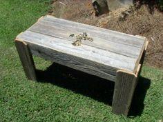 Reclaimed Wood Coffee Table Fleur De Lis. My Own Design. Louisiana Saints Decorations. Fleur De Lis Furniture. Fleur De Lis Decorations on Etsy, $407.61 CAD