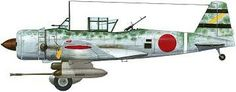 Mitsubishi ki-51 with tank attack guns.