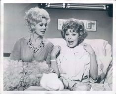 """Lucy and Eva Gabor   From a 1972 episode of """"Here's Lucy""""   Lucy_Fan   Flickr"""