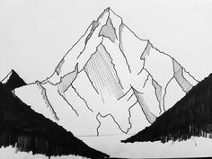 #inkpen #ink #inkline #k2 #mountain #landscape #drawing #linedrawing #sketch #art #illustration #graphicdesign #monochrome #doodle #blackandwhite by avdgrinten