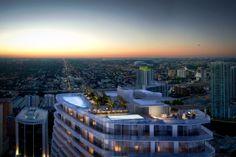 Super Oportunidade de investimento em Miami: SLS Lux on Brickell - Garanta já sua unidade com apenas 10% do valor e parcele o restante até a entrega em 2017