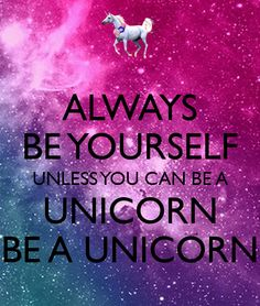 Unicorn's can run, you can run. Therefore, you are a Unicorn! We have a new challenge to see if you can stay motivated in January to earn yourself a unicorn medal!