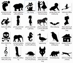Free SVG Files for Silhouette | More than 600 free silhouette SVG Cliparts that can be used with ...