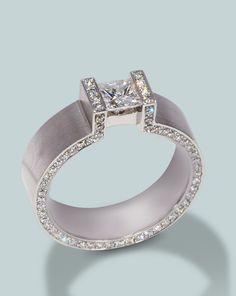 Henrich-Denzel engagement ring | Engagement Rings Fine Gemstones Gold Platinum Designer Jewelry