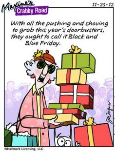 Maxine Christmas Cartoon