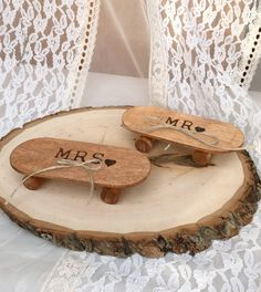 Skateboard Ring Bearer Pillow Alternative by WeddingGalleryDesign