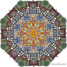 2016-12-17 From Fanciful Mandalas, Volume 4