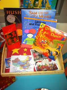 Chinese New Year 2014 Reading Nook for Kids