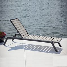 The POLYWOOD Euro Chaise Lounge is the perfect marriage of style and performance which is ideal to create a sophisticated...(more below) $1,162.00