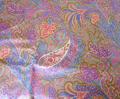 Designer Paisley Fabric Kathmandu Collection by nanascottagehouse, $89.00