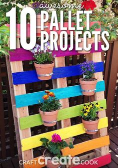 You will love these creative and fun DIY pallet projects!