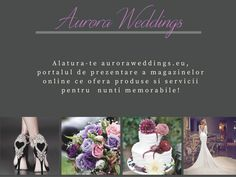Aurora Weddings creeaza nunti de poveste! #bride #groom #dress #jewelry #auroraweddings