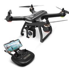 Quadcopter FPV Drone GPS Return 1080p HD Camera Live Video 5G WiFi Transmission #QuadcopterFPVDrone