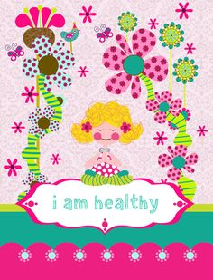 Yoga Affirmations for kids: www.etsy.com/shop/idocaredesigns