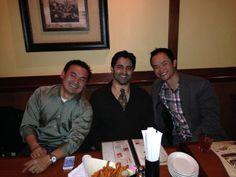 The three SFPMPT founders! #elephantbar #dinner #christmas #photograph