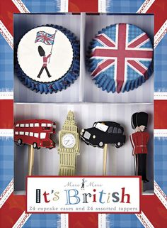 Meri Meri - Cupcake Set It´s British - party-princess