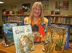 Children's book author Ruth Sanderson