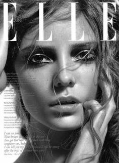 Nimue Smit photographed by Allique for Elle June 2010 _