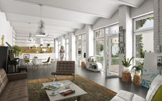CGarchitect - Professional 3D Architectural Visualization User Community | Loft in Berlin Germany