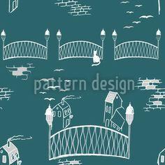 Boardwalk Ornament by Martina Stadler available for download on patterndesigns.com