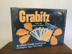 Vintage Grabitz Game, 1979 Grabitz Game, NOS, Sealed Vintage Games, Games in Original Packaging, 1970s Collectors Games, Vintage Games Games For Kids, Games To Play, Family Card Games, Bored Games, International Games, Bubble Wrap Envelopes, Family Game Night, Vintage Games, Cat Lover Gifts