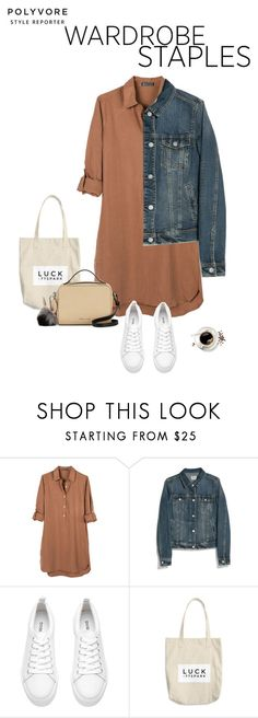 """""""Wardrobe Staples: Denim jacket & sneakers"""" by solespejismo on Polyvore featuring moda, United by Blue, MANGO, H&M y Kendall + Kylie"""