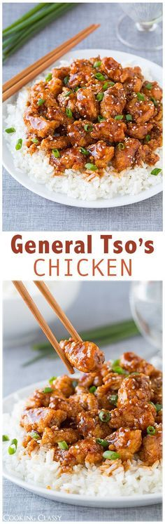 General Tso's Chicken - This chicken is DELICIOUS! Way better than take out!