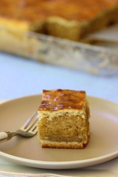 Almas Pite Hungarian Apple Squares (All Content © 2012 Playin with my Food) Hungarian Desserts, Hungarian Cuisine, Hungarian Recipes, Hungarian Food, Croatian Recipes, Apple Desserts, Apple Recipes, Just Desserts, Dessert Recipes