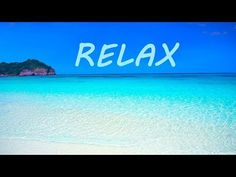 Relaxing waves sounds - looped for of sun - and idyllic paradise tropical beach waves with crystal clear water ocean sounds and seagull nature sound for .