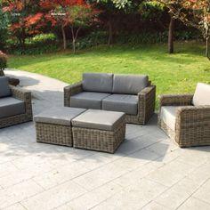 rimini lounge garten loungegruppe 20-teilig exotan | poly rattan, Garten und erstellen