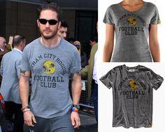 Remember Tom's fabulous Gotham City Rogues Football Club T-shirt?   UnderArMour!