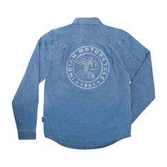 Headdress Denim Shirt from Indian Motorcycle Accessories & Apparel - Lincoln, NE