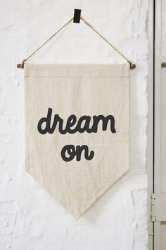 Secret Holiday & Co. X UO Dream On Banner - Urban Outfitters