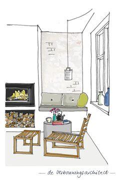 Best Home Decoration Stores Drawing Interior, Interior Design Sketches, Contemporary Interior Design, Home Interior Design, Interior Styling, Interior Architecture, Interior Design Institute, Decorating Blogs, Living Room Interior