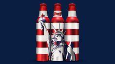 Budweiser New York Beer Bottle