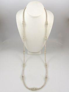Navajo Pearl Necklace by Victoria Haley, Navajo
