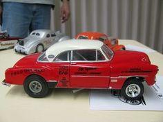 1951 Chevrolet Bel Air Jim Spencer Gasser Model Car
