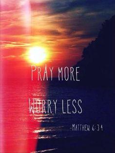 Matthew 6:34 by blanca
