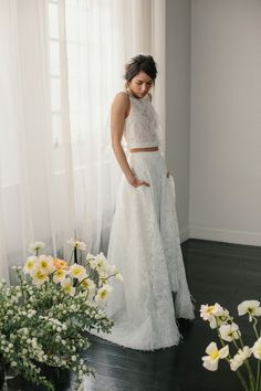 2016 Trendi: Two Piece Wedding Dress Models Two Piece Wedding Dress, Fit And Flare Wedding Dress, Sweetheart Wedding Dress, Lace Mermaid Wedding Dress, Wedding Dress Sleeves, Disney Wedding Dresses, Wedding Dresses Plus Size, Modest Wedding Dresses, Elegant Wedding Dress