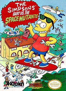 Who could forget Bart vs. The Space Mutants?? The Simpsons craze was in full effect when this one came out...